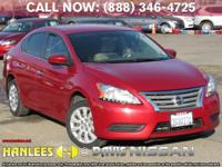 Options:  2014 Nissan Sentra S|Red|Check Out This 2014