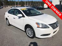 CARFAX One-Owner. Clean CARFAX. Aspen White 2014 Nissan