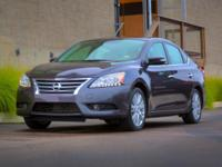 Options:  2014 Nissan Sentra S|Black|Carfax One-Owner.