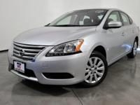 Clean CARFAX. Certified. Brilliant Silver 2014 Nissan