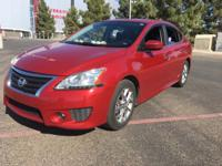 This 2014 Nissan Sentra SR is complete with