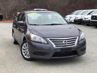 2014 Nissan Sentra Gray  Clean CARFAX. FOR MORE
