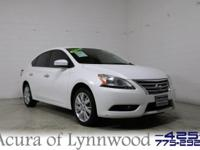 2014 Nissan Sentra S CVT with Xtronic. Talk about a