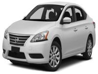 Options:  2014 Nissan Sentra S|*** When It Comes To