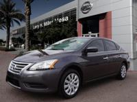 For a smoother ride, opt for this 2014 Nissan Sentra S