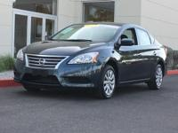 CVT with Xtronic.  2014 Nissan Sentra S 39/30