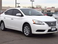 This 2014 Nissan Sentra S comes with Black cloth