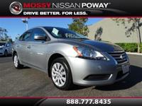 Sentra S, Nissan Certified, and Magnetic Gray. Call