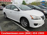 Sentra SR, Nissan Certified, 4D Sedan, CVT with