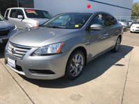 Options:  2014 Nissan Sentra S|Gray|Automatic|1.8L Dohc