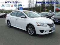 ONE OWNER and CLEAN CARFAX. Sentra SR, 4D Sedan, CVT