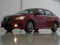 2014 Nissan Sentra SR in Red Brick, This Sentra comes