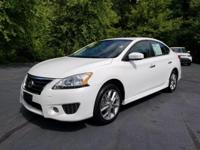Our amazing Carfax One Owner, 2014 Nissan Sentra SR in