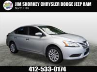 2014 Nissan Sentra S New Price! CARFAX One-Owner. Clean