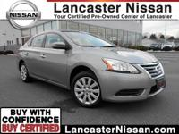 Our CarFax One Owner 2014 Nissan Sentra S shown off in