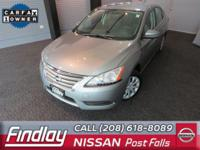 Look at this 2014 Nissan Sentra S. Its Variable
