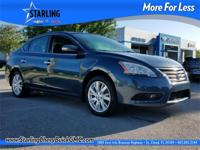 2014 Nissan Sentra SL ONE OWNER, CLEAN CARFAX, ALLOY