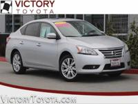 2014 Nissan Sentra SL in Silver starred featured
