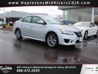 This 2014 Nissan Sentra in Brilliant Silver includes,