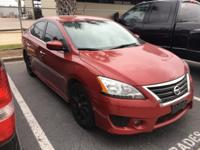 Red Brick 2014 Nissan Sentra SR FWD CVT with Xtronic