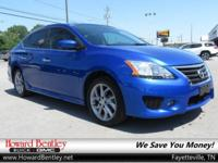 Blue 2014 Nissan Sentra S FWD CVT with Xtronic 1.8L
