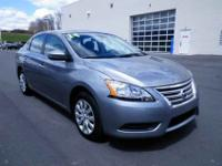 This really nice Nissan Sentra came to us extra clean