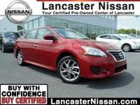 Our CarFax One Owner 2014 Nissan Sentra SR has aced its