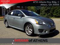 Come see this 2014 Nissan Sentra SR. Its Variable