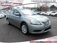 Check out this Certified 2014 Nissan Sentra SV which is