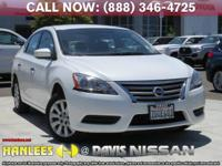 Options:  2014 Nissan Sentra Sv|White|Check Out This