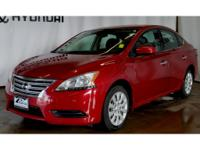 This Nissan Sentra has a L4, 1.8L; DOHC 16V high output