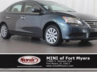 Come see this 2014 Nissan Sentra SV. Its Variable