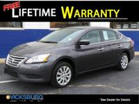 Options:  2014 Nissan Sentra Sv|Gray|Cvt With Xtronic.