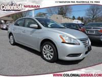 Here we have a 2014 Nissan Sentra SV which is a Carfax