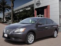 This 2014 Nissan Sentra SV features a braking assist,
