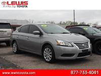 Options:  2014 Nissan Sentra Sv|S 4Dr Sedan Cvt|1.8L|4
