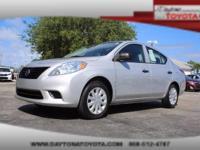 2014 Nissan Versa 1.6 S Sedan, *** 1 FLORIDA OWNER ***