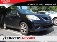 Come see this 2014 Nissan Versa S Plus. Its Variable