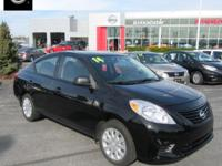 2014 Nissan Versa 1.6 S Williamsport area. LOCAL TRADE,