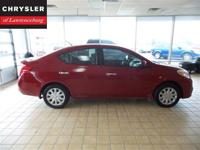 Check out this Nice 2014 Nissan Versa from Chrysler of