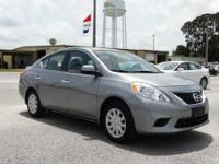 One of the best things about this 2014 Nissan Versa 1.6