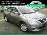 2014 Nissan Versa 4dr Sdn CVT 1.6 SV Our Location is: