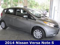 2014 Nissan Versa Note S is here and with nearly 40 MPG
