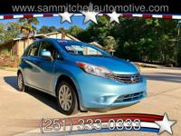 2014 Nissan Versa Note S. Has only 34000 miles. Am/Fm