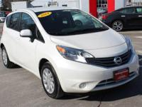 This Nissan Certified 2014 Nissan Versa Note S Plus is