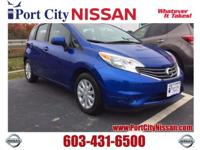 NH State Inspected!. Versa Note SV, ABS brakes, Air