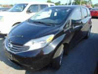 This outstanding example of a 2014 Nissan Versa Note S