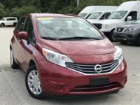 2014 Nissan Versa Note Red  FOR MORE INFORMATION PLEASE