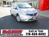 ONE OWNER, ONLY 30K Miles! 2014 Nissan Versa Note!