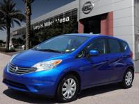 Don't miss out on this 2014 Nissan Versa Note SV! It